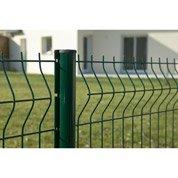 Panneau grillagé vert H.1.93 x L.2 m, maille H.100 x l.55 mm