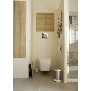 wc suspendu wc abattant et lave mains leroy merlin. Black Bedroom Furniture Sets. Home Design Ideas