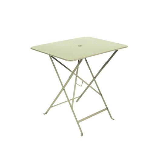 Table de jardin FERMOB Bistro rectangulaire tilleul   Leroy Merlin