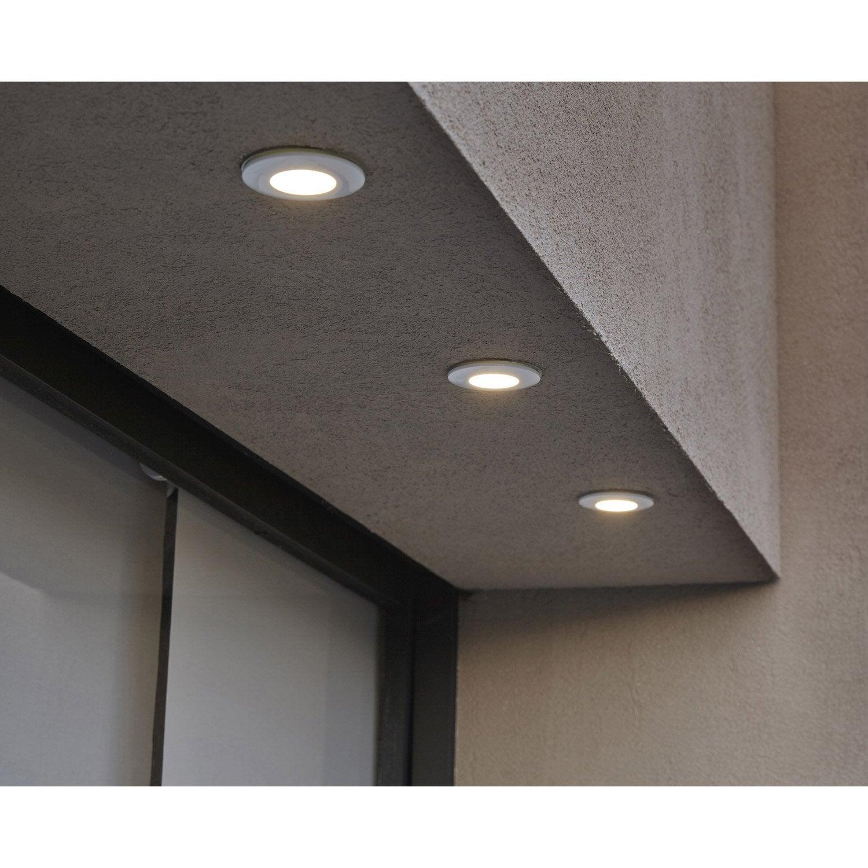 spot encastrer ext rieur margo diam 8 4 cm aluminium leroy merlin. Black Bedroom Furniture Sets. Home Design Ideas