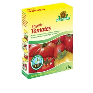 Engrais tomates NEUDORFF 2kg 20 m²