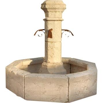 Fontaine et cascade d\'exterieur - Pierre, fonte au meilleur ...