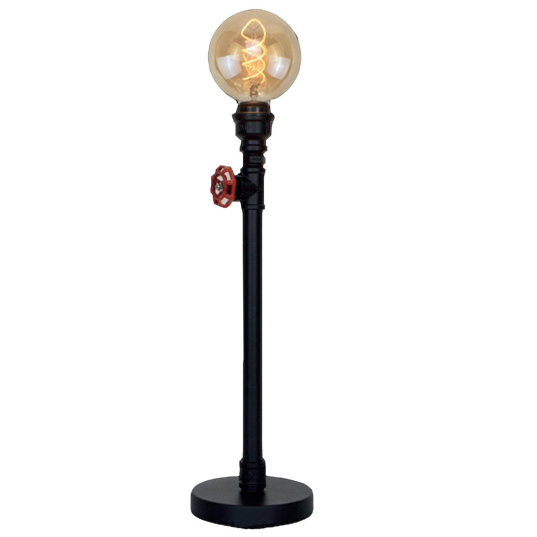 Lampadaire Robin, SAMPA HELIOS, E27, noir, 120 cm