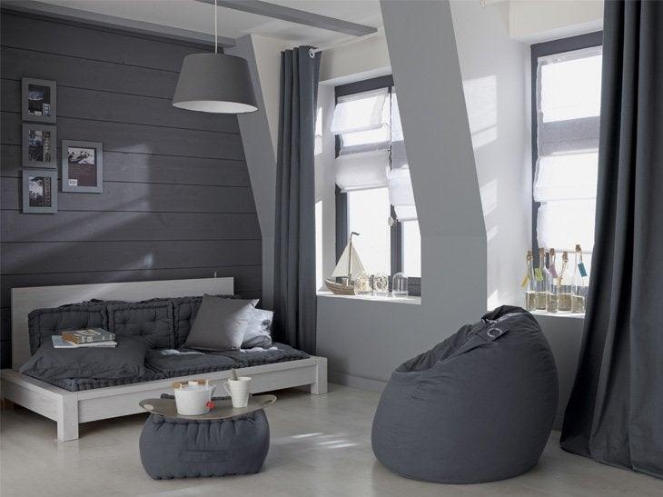 Deco Salon Blanc Lin : inspirer  Des murs coordonnés