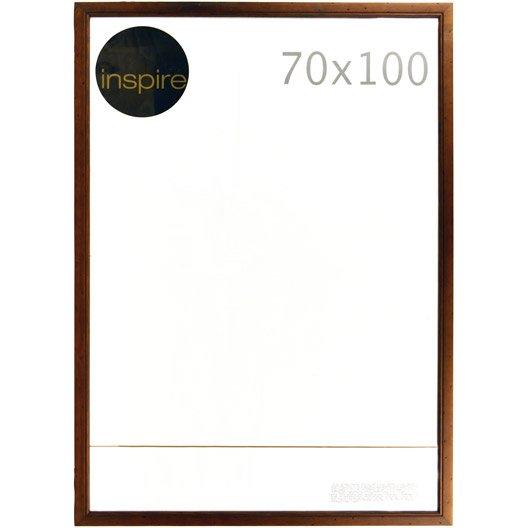 cadre saranca 70 x 100 cm marron leroy merlin