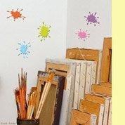 Sticker Taches de peinture 15 cm x 23.5 cm
