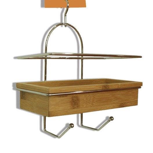 etag re de bain douche suspendre naturel wellness leroy merlin. Black Bedroom Furniture Sets. Home Design Ideas