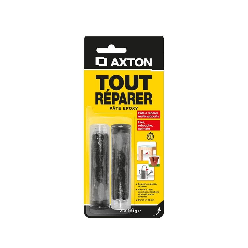 Lot De 2 Pâtes à Réparer Tout Réparer Axton 2 X 56 G