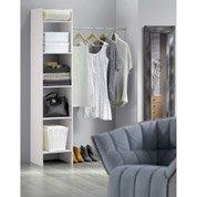 Kit dressing blanc Modul'basic H.187 x l.120 x P.38 cm
