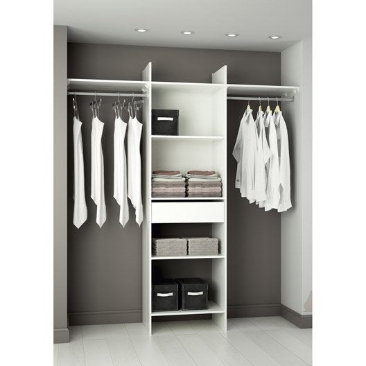 Kit dressing am nagement placard et dressing leroy merlin - Interieur de placard castorama ...