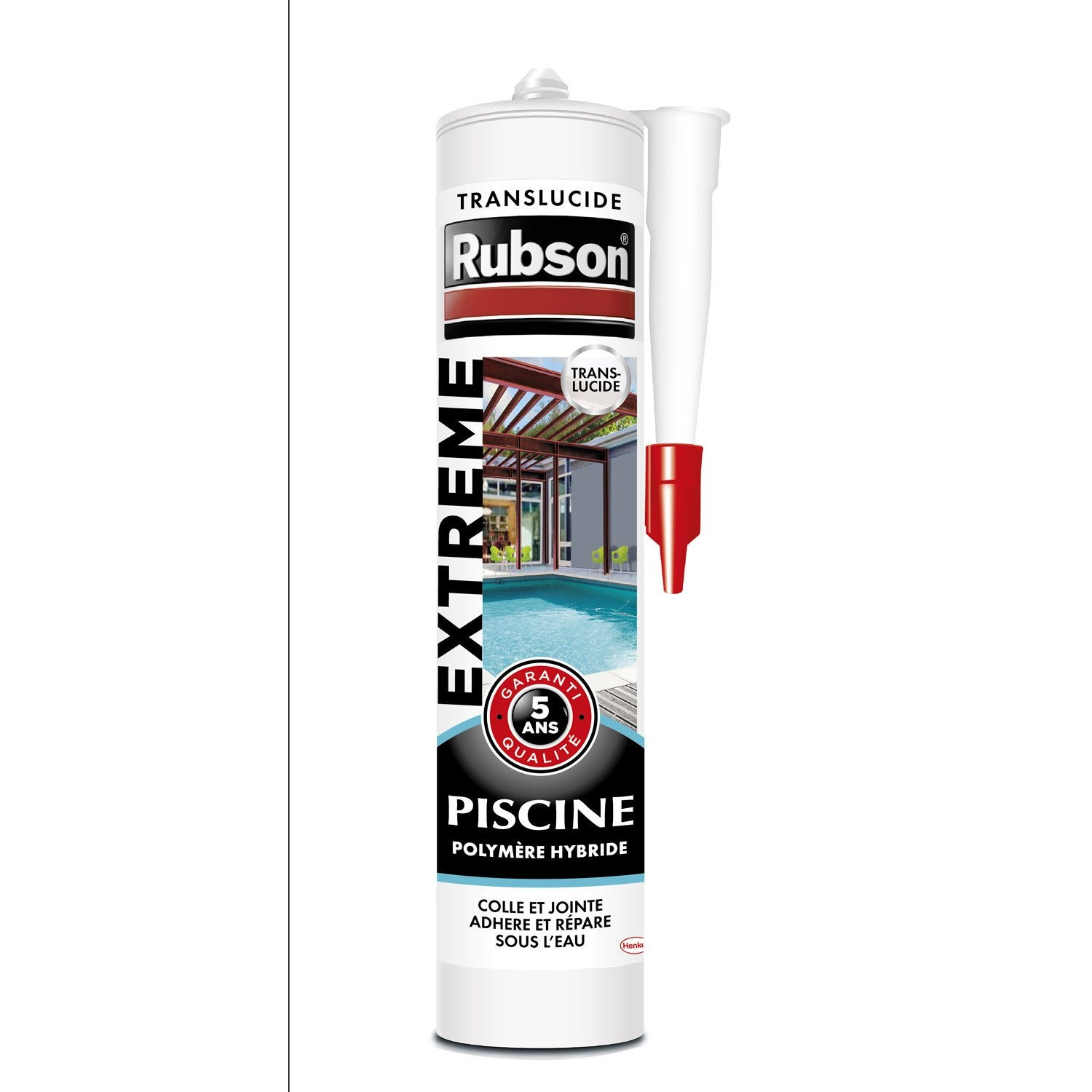 Mastic d 39 tanch it rubson piscine extr me 280 ml for Colle liner pour piscine