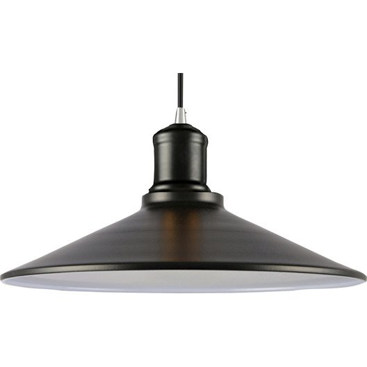 Suspension vintage cornouaille m tal noir 1 x 60 w boudet leroy merlin - Suspension new york leroy merlin ...