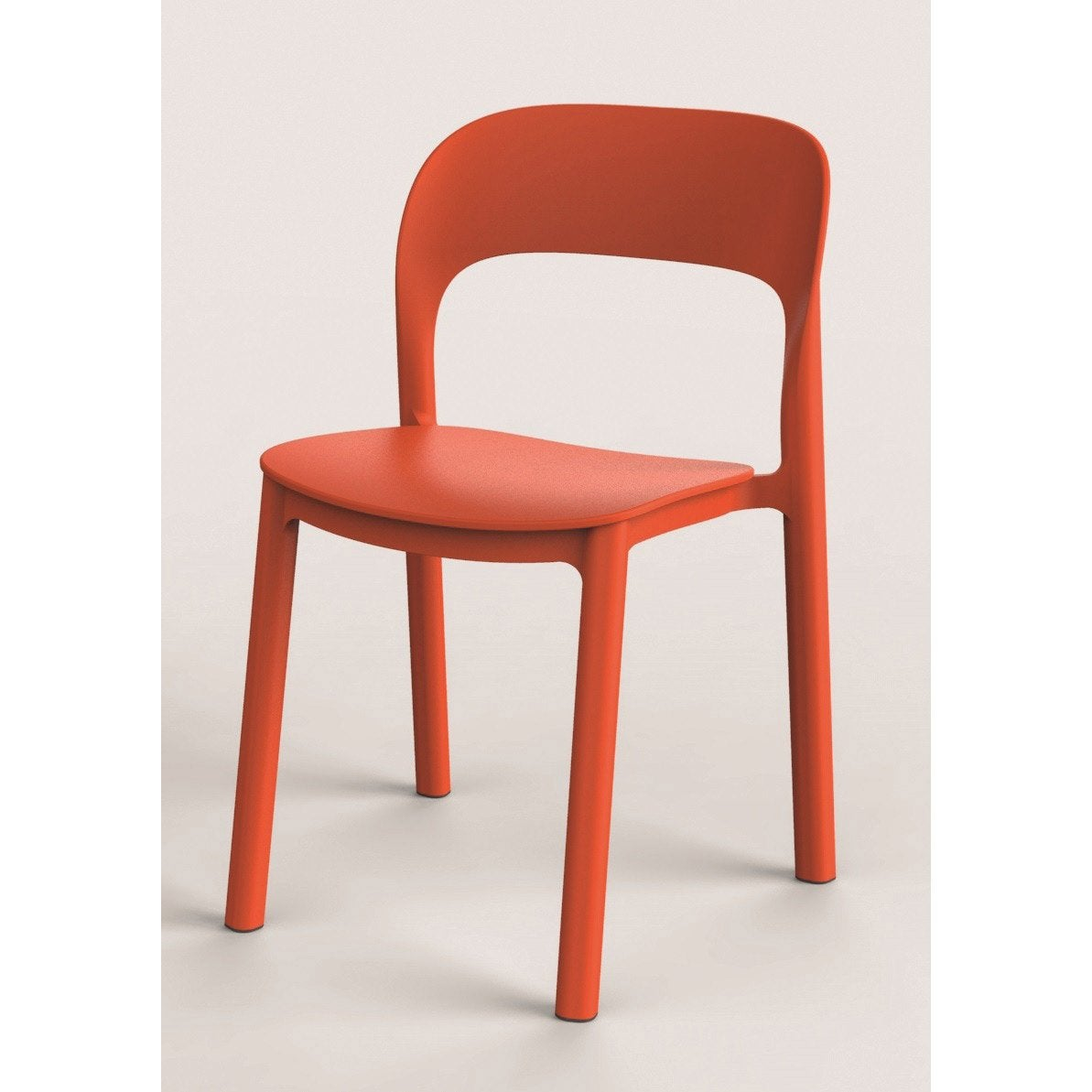 Chaise De Jardin En Resine Injectee Ona Orange