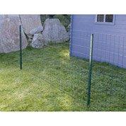 Grillage soudé vert H.1 x L.20 m, maille de H.100 x l.63 mm