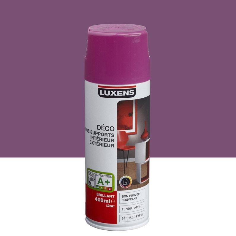 Peinture Aérosol Brillant Luxens Violet Tulipe N 3 0 4 L