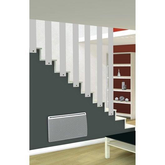 radiateur lectrique rayonnement concorde winor 2 1000 w leroy merlin. Black Bedroom Furniture Sets. Home Design Ideas