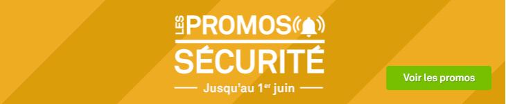 les promos sécurité