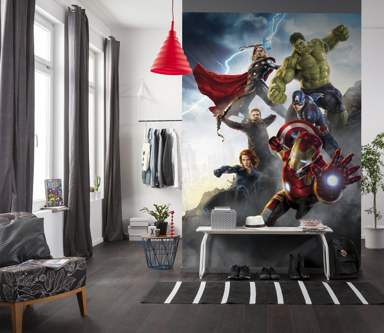 Du papier peint grandeur nature avec les photos murales