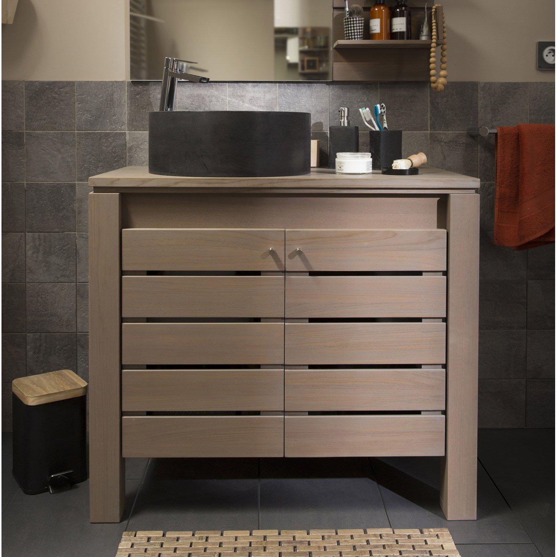 meuble de salle de bains de 80 99 marron moorea