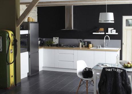 La cuisine s'aime en noir et blanc