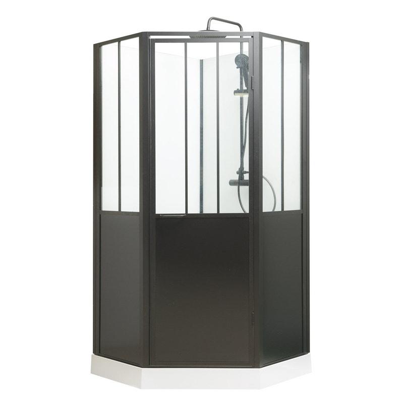 Cabine De Douche 1 4 De Cercle L 100 X L 100 Cm Atelier