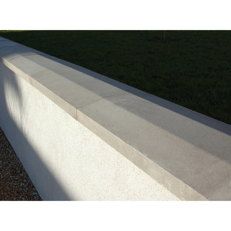 Couvre Mur Gris H5 X L28 X P49 Cm