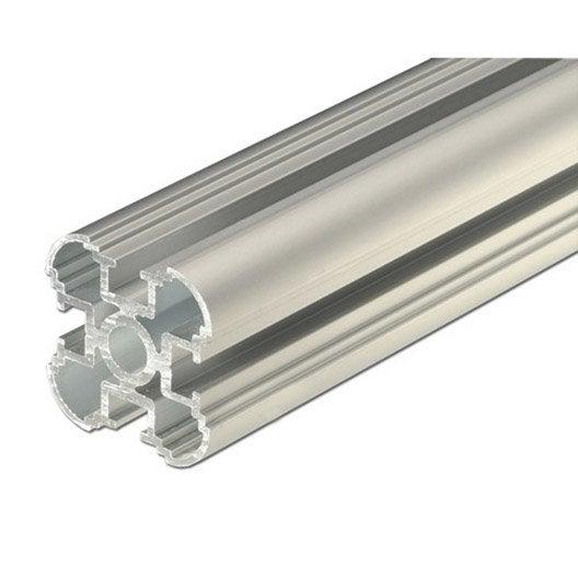 Colonne aluminium anodis l 2 m x l cm x h cm leroy merlin - Colonne aluminium prix ...