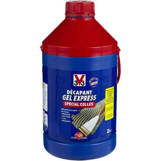Décapant colle V33 Gel express, 2 l