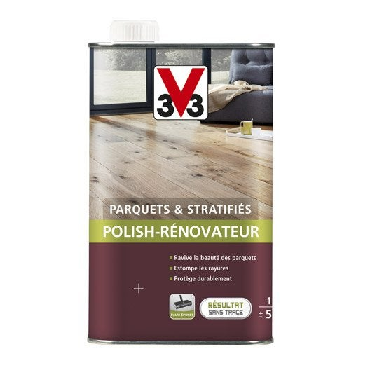 r novateur parquet mat v33 1 l leroy merlin. Black Bedroom Furniture Sets. Home Design Ideas
