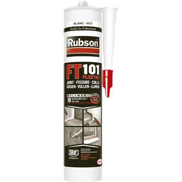Mastic d'étanchéité RUBSON toute destination qualité pro Ft101 280 ml blanc
