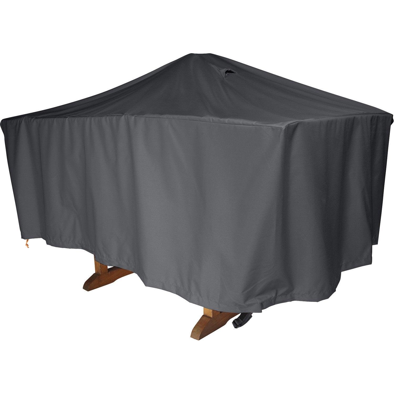 Housse de protection pour table NATERIAL L.170 x l.110 x H.60 cm ...