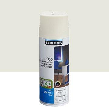 Bombe de peinture int rieure a rosol peinture spray leroy merlin - Peinture blanc ivoire ...