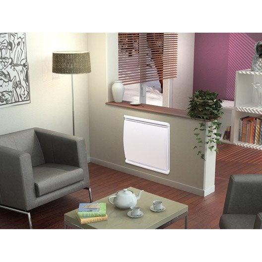 radiateur lectrique inertie fonte airelec joline 1500 w leroy merlin. Black Bedroom Furniture Sets. Home Design Ideas
