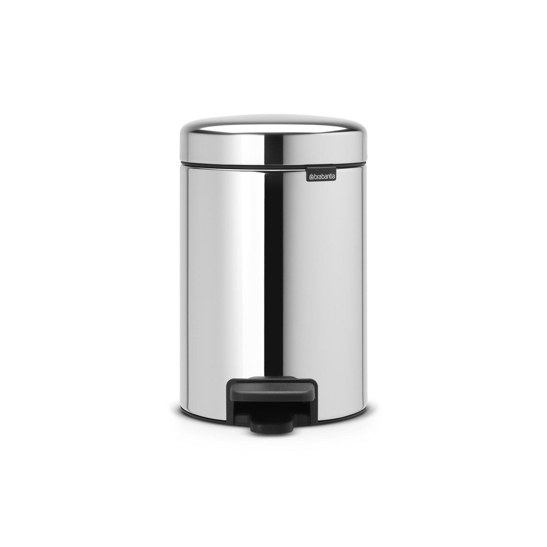 poubelle de salle de bains 3 l brilliant steel brabantia