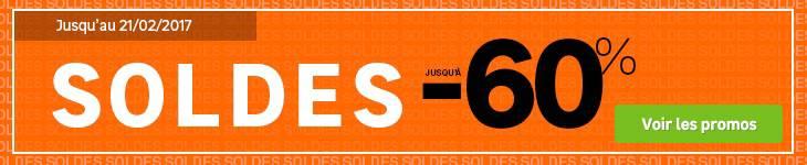 Soldes Janvier 2017 -60%