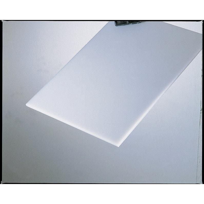 Polystyrène Blanc Laiteux Lisse L100 X L50 Cm 25 Mm