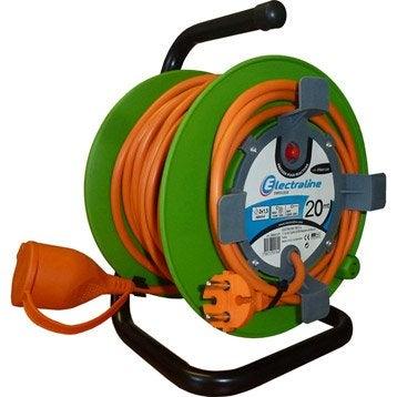 Enrouleur lectrique rallonge lectrique et enrouleur au - Enrouleur electrique vide ...