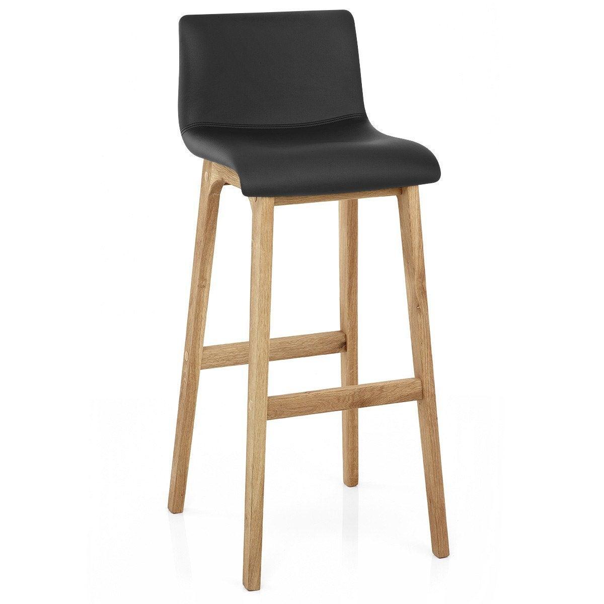 chaise de bar en jonc