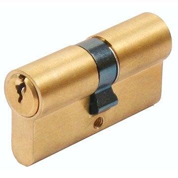 Cylindre de serrure 40+40 mm, 5 goupilles