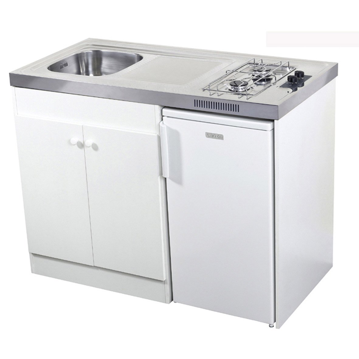 Kitchenette gaz blanc Spring H.92.5 x l.120 x P.60 cm | Leroy Merlin