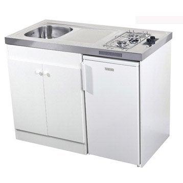 Kitchenette gaz blanc Spring H.92.5 x l.120 x P.60 cm