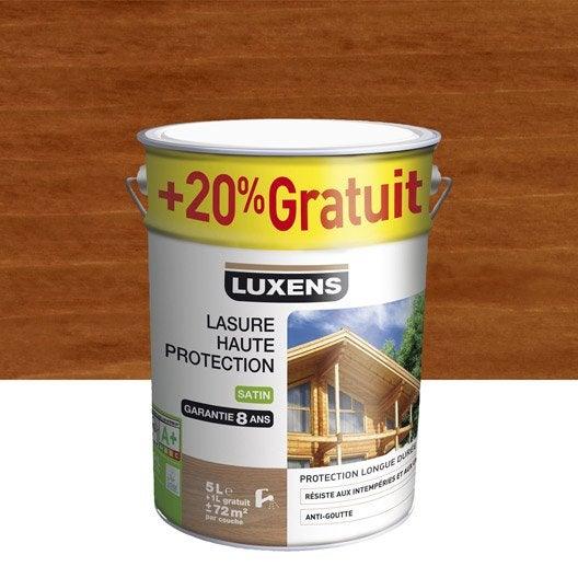Lasure ext rieure haute protection luxens pin d 39 or gon for Lasure couleur exterieure