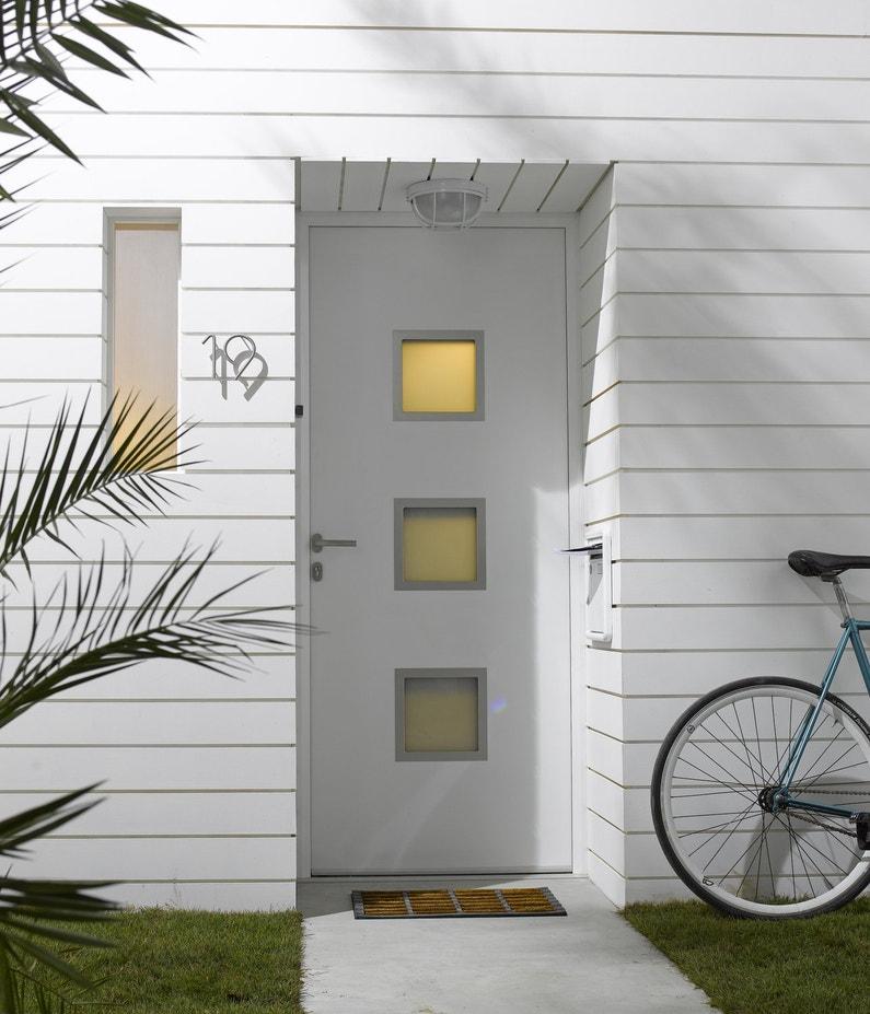 Une Porte D 39 Entr E Contemporaine Et Moderne