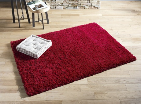 Un tapis pour habiller votre salon leroy merlin for Salon tapis rouge