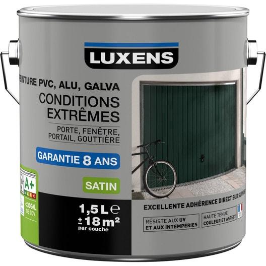 Peinture PVCalugalva Extérieur Conditions Extrêmes LUXENS Blanc N - Peinture pour bateau aluminium
