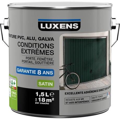 Peinture pvc alu galva peinture ext rieure acrylique glycero leroy merlin for Peinture pvc exterieur ral