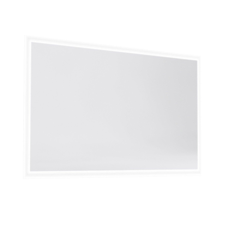 Miroir Lumineux Avec éclairage Intégré L120 X H70 Cm Opale