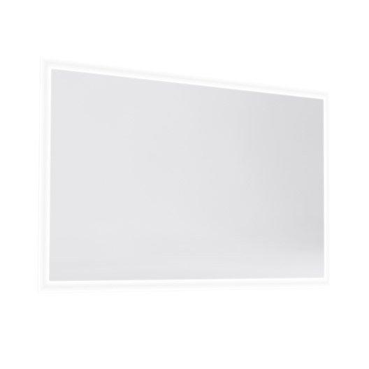 Miroir avec éclairage intégré Opale, l.120 x H.70 x p.2cm