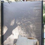 Panneau textile coulissant occultant l.300 cm x H.160 cm, taupe