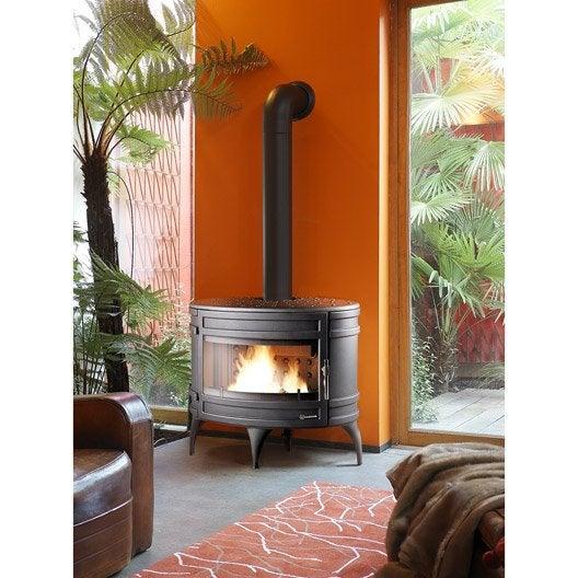 po le bois invicta mandor anthracite 6180 44 12 kw. Black Bedroom Furniture Sets. Home Design Ideas